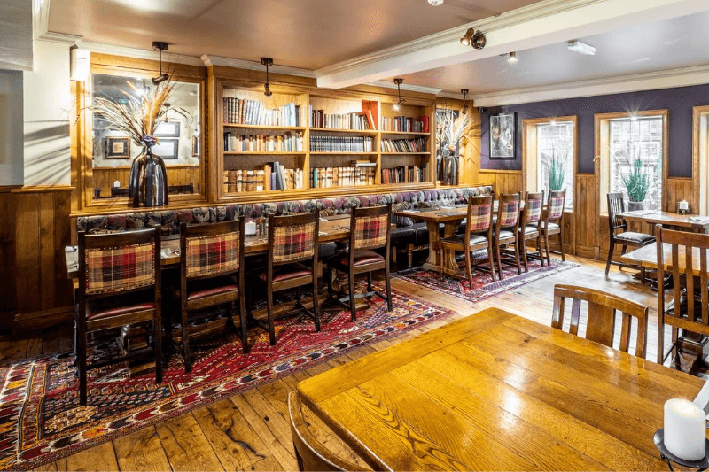 The Bear's Paw in Warmingham, Cheshire